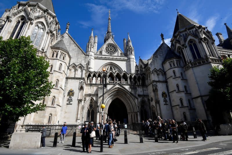 FILE PHOTO: High Court in London