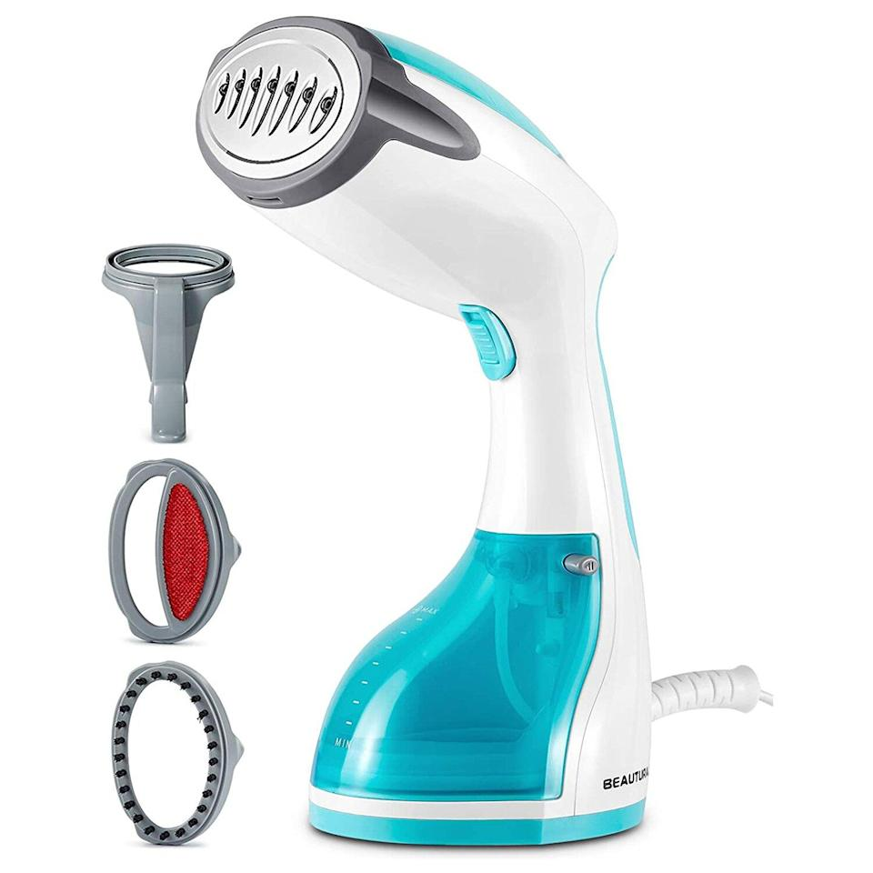 BEAUTURAL Steamer for Clothes, Portable Handheld Garment Fabric Wrinkles Remover