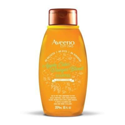 <p>If an itchy scalp is your problem, then let the <span>Aveeno Apple Cider Vinegar Blend Shampoo</span> ($7) and its super soothing formula be your solution.</p>