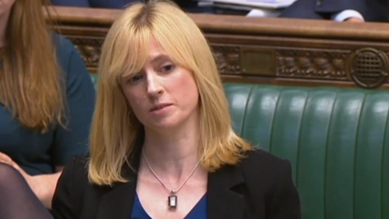 MP shares with Commons her own experience of domestic abuse