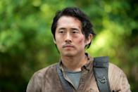 """<p>Steven Yeun was born on Dec. 21, 1983, in Seoul, South Korea, and was raised in Troy, Michigan, where he graduated high school. He began his career in improv and sketch comedy in Chicago, where he trained at the prestigious Second City.</p> <p>Once he felt he had hit a ceiling with the opportunities he was getting, Yeun took his talents to Hollywood and landed his first big role as Glenn Rhee in the highly successful AMC horror series <em>The Walking Dead </em>(2010 to 2016). After spending seven seasons on the show and becoming a household name in television, Yeun was still only just beginning what's become a promising career path — one that he has thought out with intention as he learns to find his voice in the industry.</p> <p>""""Leaving [<em>The Walking Dead</em>], if I had any weird feelings about it, was mostly that I hadn't taken the time for myself to understand who I was and maybe my voice and what I wanted to say,"""" Yeun told <a href=""""https://variety.com/2020/tv/news/steven-yeun-walking-dead-glenn-dies-1234871869/"""" rel=""""nofollow noopener"""" target=""""_blank"""" data-ylk=""""slk:Variety"""" class=""""link rapid-noclick-resp""""><em>Variety</em></a> in December 2020. """"I was always kind of in service to this larger narrative. And in some ways that reflects kind of how I was raised in my early years. I think I'm done. I think I want to try the other side.""""</p>"""