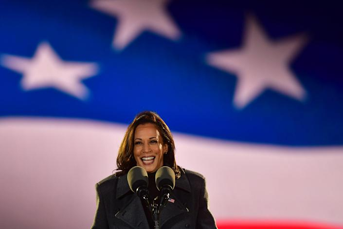 Kamala Harris in Pennsylvania on the eve of election day (Getty Images)