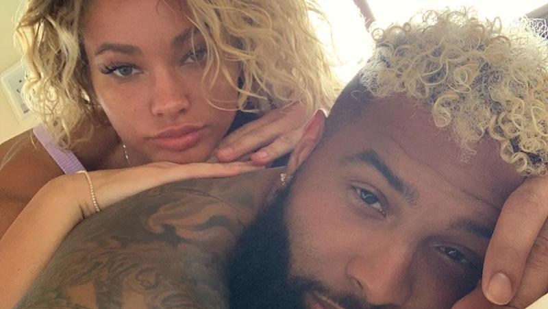 odell beckham girlfriend