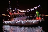 """<p>Every year boat owners and residents prepare for the <a href=""""https://www.christmasboatparade.com/"""" rel=""""nofollow noopener"""" target=""""_blank"""" data-ylk=""""slk:biggest holiday celebration"""" class=""""link rapid-noclick-resp"""">biggest holiday celebration</a> on the water: the <a href=""""https://go.redirectingat.com?id=74968X1596630&url=https%3A%2F%2Fwww.tripadvisor.com%2FTourism-g32780-Newport_Beach_California-Vacations.html&sref=https%3A%2F%2Fwww.countryliving.com%2Flife%2Ftravel%2Fg2829%2Fbest-christmas-towns-in-usa%2F"""" rel=""""nofollow noopener"""" target=""""_blank"""" data-ylk=""""slk:Newport Beach"""" class=""""link rapid-noclick-resp"""">Newport Beach</a> Christmas Boat Parade. More than 100 boats ranging in size from yachts to canoes light up and sail 14 miles around Newport Harbor for five consecutive nights. Prizes are given out for categories such as best animation and originality—some owners are even known to spend months (and up to $50,000!) decorating.</p><p><strong><a class=""""link rapid-noclick-resp"""" href=""""https://go.redirectingat.com?id=74968X1596630&url=https%3A%2F%2Fwww.tripadvisor.com%2FTourism-g32780-Newport_Beach_California-Vacations.html&sref=https%3A%2F%2Fwww.countryliving.com%2Flife%2Ftravel%2Fg2829%2Fbest-christmas-towns-in-usa%2F"""" rel=""""nofollow noopener"""" target=""""_blank"""" data-ylk=""""slk:PLAN YOUR TRIP"""">PLAN YOUR TRIP</a></strong></p>"""