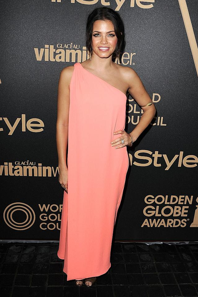 LOS ANGELES, CA - NOVEMBER 29:  Jenna Dewan-Tatum arrives at the The Hollywood Foreign Press Association And InStyle Miss Golden Globe 2013 Party on November 29, 2012 in Los Angeles, California.  (Photo by Steve Granitz/WireImage)