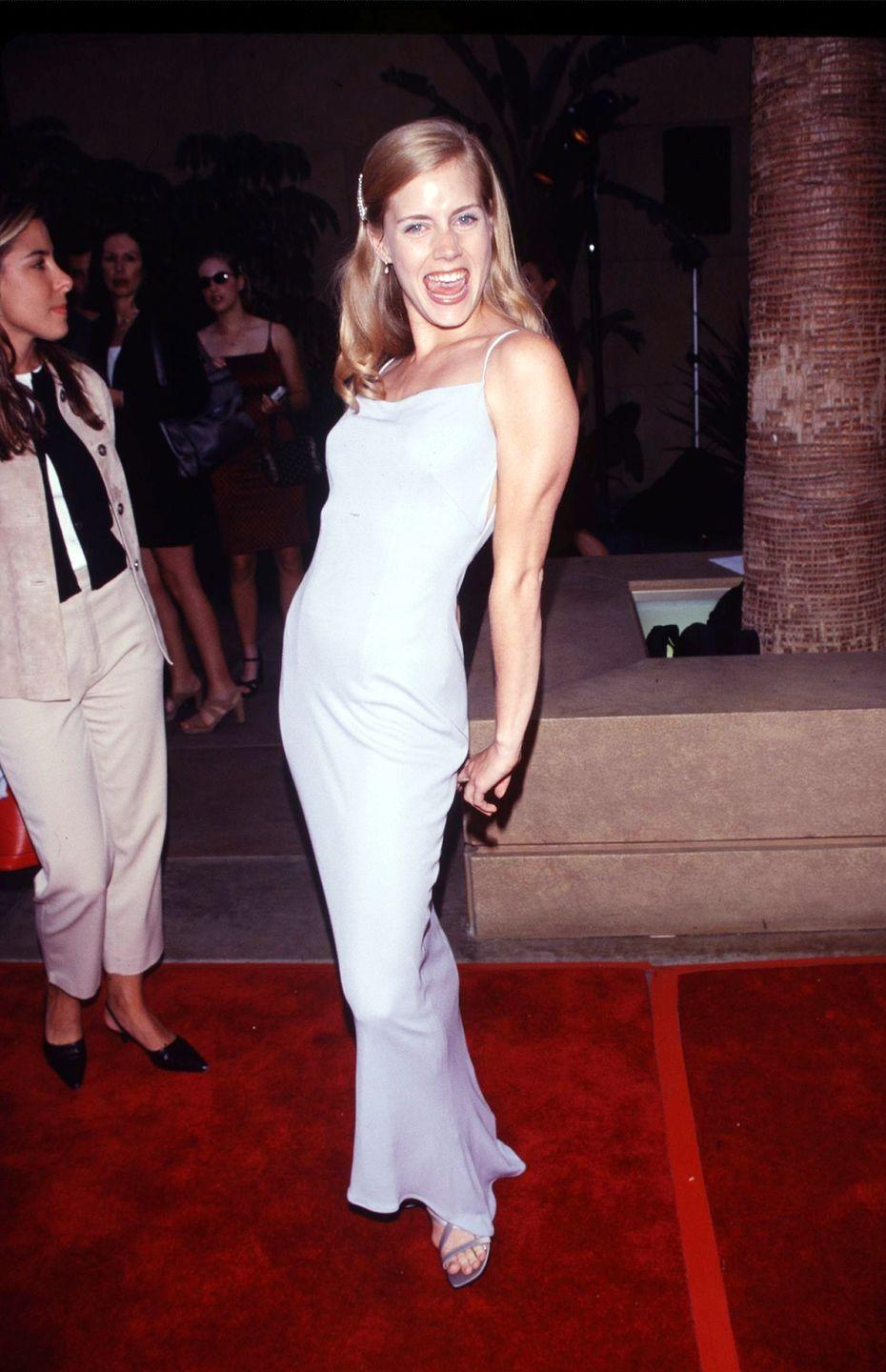 <p>Amy Adams seems like she enjoyed her big red carpet debut when she attended the premiere of her first film, <em>Drop Dead Gorgeous. </em></p>