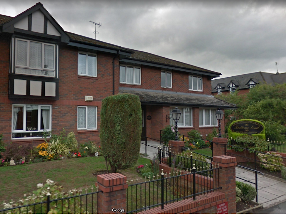 A couple were found dead in an apparent suicide pact at Rostherne Court retirement village in Altrincham, Greater Manchester. (Google street view)