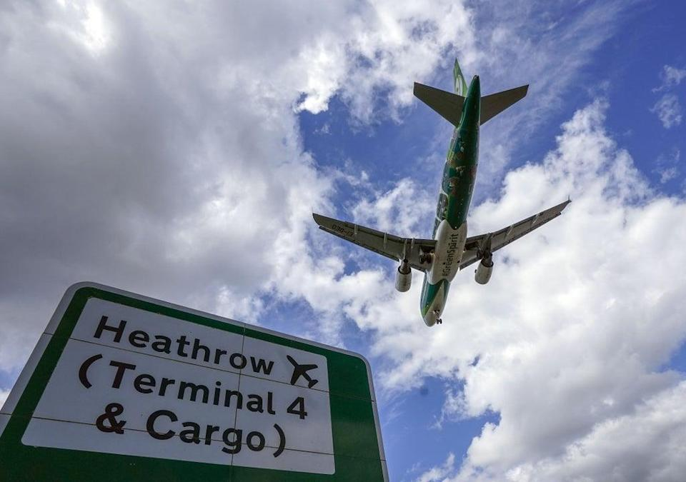Unvaccinated passengers must still take PCR tests on their return to the UK (Steve Parsons/PA) (PA Wire)