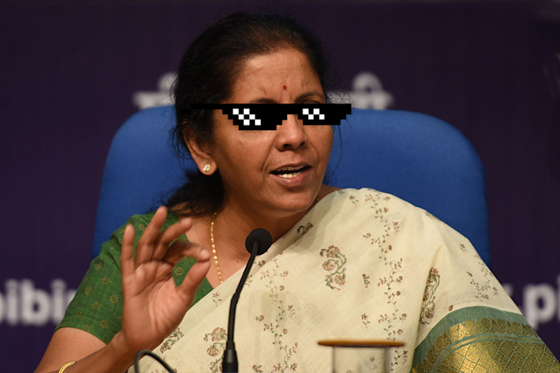 Nirmala Sitharaman Had the Perfect Reply to a Troll Who Called Her 'Sweetie'