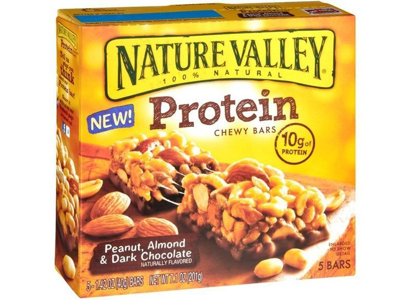 Nature Valley Protein Chewy Bars Peanut Almond Dark Chocolate
