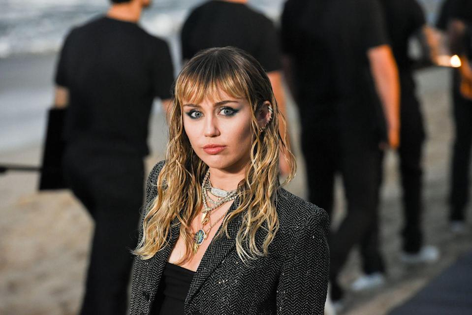 """<p>Just hours after announcing her seventh album, <em> Plastic Hearts</em> would be out in November; the singer hosted <a href=""""https://www.instagram.com/tv/CGqcIgiJWzk/?utm_source=ig_embed"""" rel=""""nofollow noopener"""" target=""""_blank"""" data-ylk=""""slk:an Instagram live"""" class=""""link rapid-noclick-resp"""">an Instagram live</a> with Democratic vice presidential nominee Kamala Harris. </p>"""