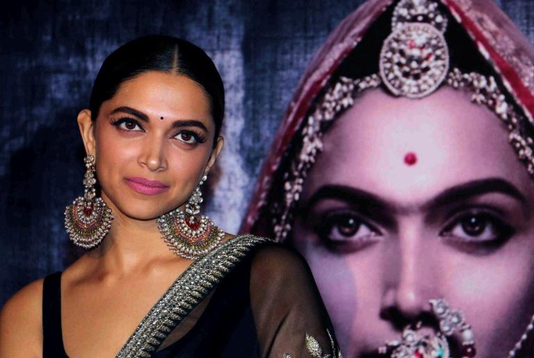 Indian actress Deepika Padukone stars as a legendary Hindu queen in the Bollywood epic 'Padmaavat'
