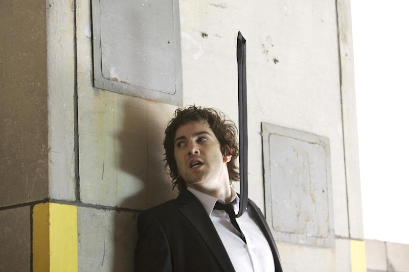 """This publicity film image released by Millennium Entertainment shows Jim Sturgess in a scene from """"Upside Down."""" (AP Photo/Millennium Entertainment)"""