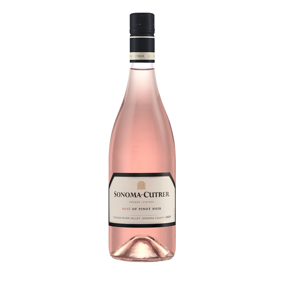 """<p>Cowan calls this rosé an """"extremely great value,"""" noting its elegant, refreshing, and vibrant palate as its biggest draw. </p><p><em>Price: $25</em></p><p><a class=""""link rapid-noclick-resp"""" href=""""https://www.sonomacutrer.com/wine/rose-of-pinot-noir/"""" rel=""""nofollow noopener"""" target=""""_blank"""" data-ylk=""""slk:SHOP NOW"""">SHOP NOW</a> </p>"""