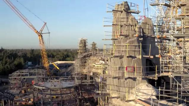 Disney's 'Star Wars' Land Takes Shape In New Video -- And It's Huge