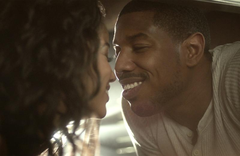 RAISING DION, from left: Alisha Wainwright (back to camera), Michael B. Jordan, (Season 1, aired Oct. 4, 2019). photo: Netflix / Courtesy Everett Collection