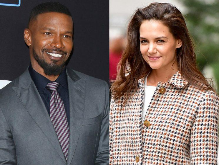 Jamie Foxx and Katie Holmes have been secretive about their romance. (Photo: Getty Images)