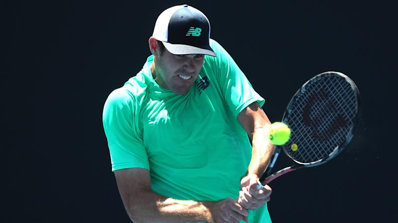 Opelka hits 43 aces, edges Schnur for ATP New York title
