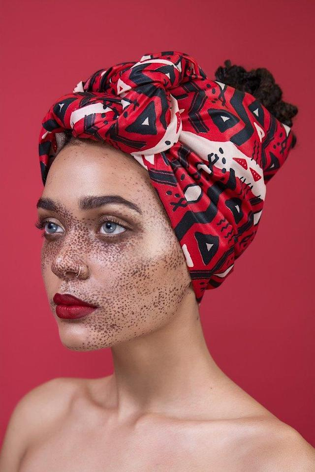 "<p>Tembi head wrap, $32, <a href=""https://thewrap.life/collections/ghana-brooklyn/products/tembi"" rel=""nofollow noopener"" target=""_blank"" data-ylk=""slk:thewrap.life"" class=""link rapid-noclick-resp"">thewrap.life</a> </p>"