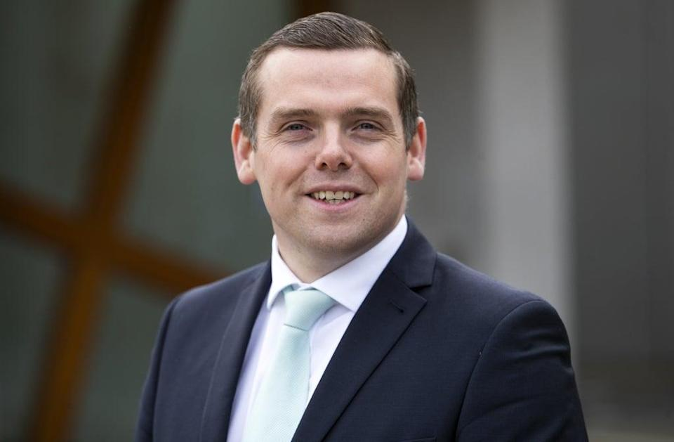 Douglas Ross said the Tories are the 'party of working Scotland' (Jane Barlow/PA) (PA Wire)