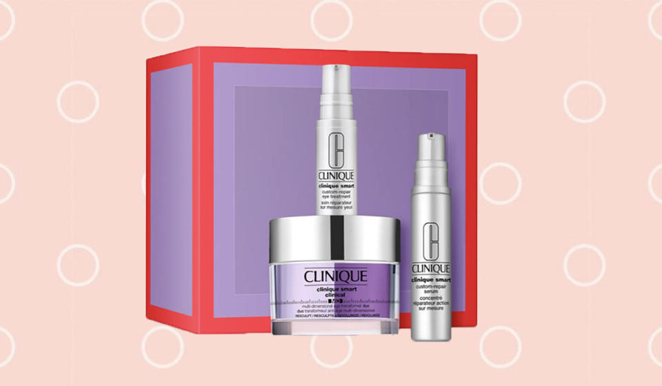 Score this anti-aging Clinique set for 40 percent off. (Photo: Nordstrom)