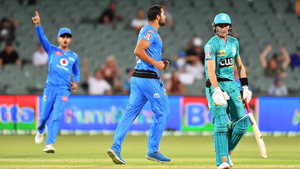 The Adelaide Strikers and Brisbane Heat, pictured here in action in the BBL.