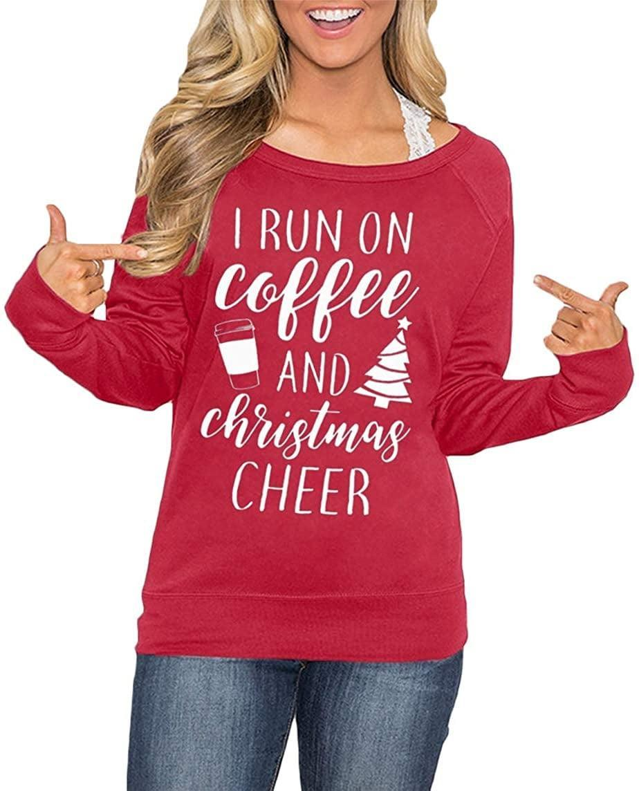 <p>Caffeine-lovers will be all about this <span>Coffee and Christmas Cheer Sweater</span> ($12-$22).</p>