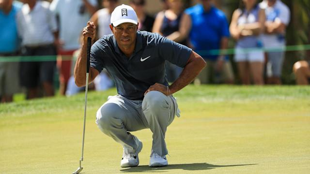 Tiger Woods is making his third start of the year at the Honda Classic. We're tracking him at PGA National in Palm Beach Gardens, Fla.