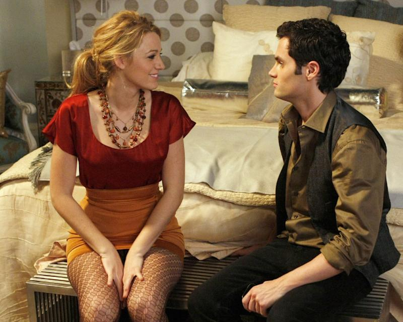GOSSIP GIRL, from left: Blake Lively, Penn Badgley, 'The Magnificent Archibalds', (Season 2, ep. 211, aired November 17, 2008)