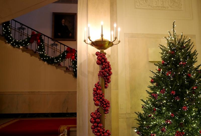 Photos White House Holiday Decorations Unveiled