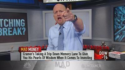 Jim Cramer clarified the difference between a broken stock and a broken company, and said to steer clear of one group at all costs.