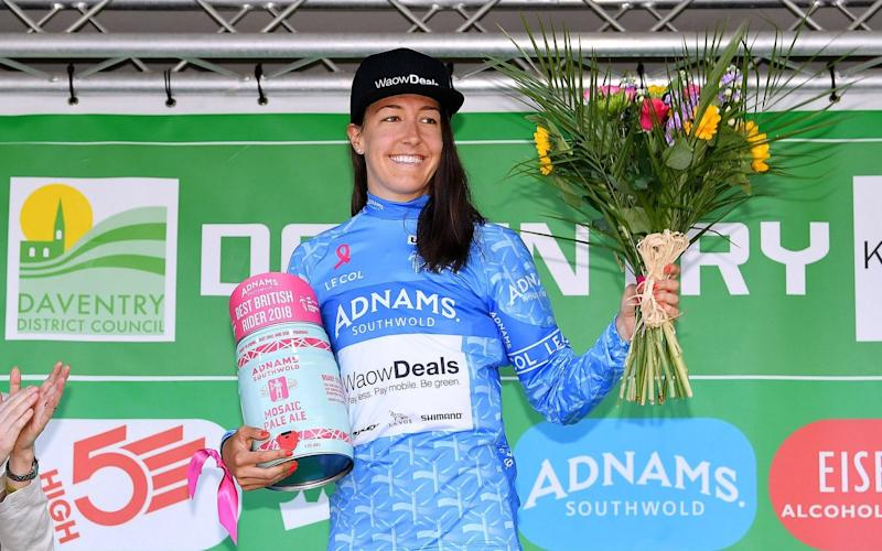 Dani Rowe moved from fifth place up to second after stage two - Velo
