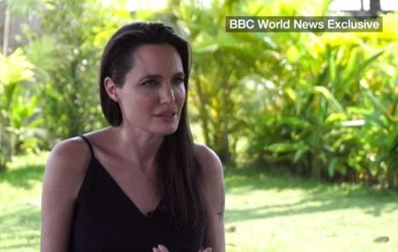 Angelina Jolie has broken her silence following Brad Pitt split in an interview with BBC. Source: BBC