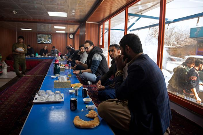 Breaking bread Kabul