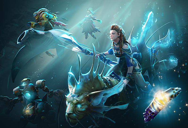The International 2017 Collector's Cache is out now. (Valve)