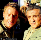 "<p>""Pretty sure I win the blue ribbon for best day at the office,"" the <em>This Is Us</em> actor captioned this repost of a photo with Sylvester Stallone, who is guest-starring on the NBC drama next season. ""Thanks @officialslystallone for defining cool."" (Photo: <a href=""https://www.instagram.com/p/BXvdi7EBc6I/?taken-by=justinhartley"" rel=""nofollow noopener"" target=""_blank"" data-ylk=""slk:Justin Hartley via Instagram"" class=""link rapid-noclick-resp"">Justin Hartley via Instagram</a>) </p>"