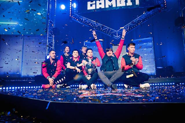 Gambit took home the CS:GO win at DreamHack Winter 2016 (DreamHack Winter Flickr/Helena Kristiansson)