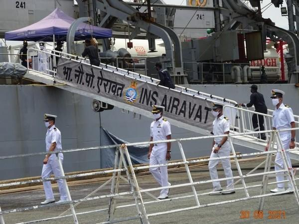 As part of the ongoing Mission SAGAR, INS Airavat arrived at Ho Chi Minh City Port in Vietnam.