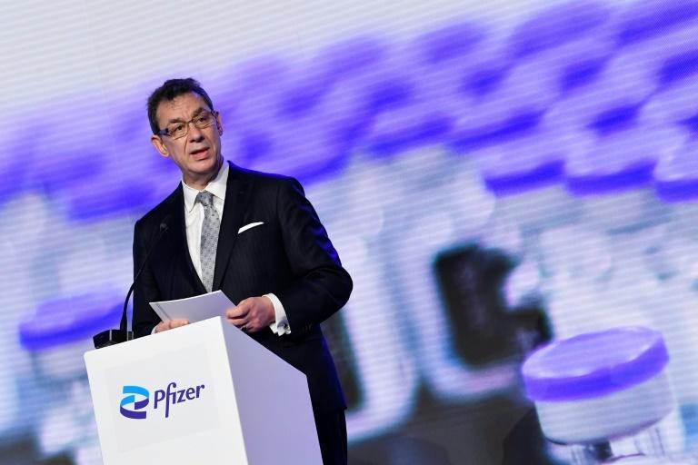 Pfizer CEO Albert Bourla says a new version of the group's coronavirus vaccine is in the pipeline and will be effective against new virus variants