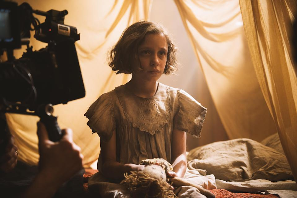Exclusive behind-the-scenes look at <i>The Secret Garden</i>, which comes to cinemas and Sky Cinema across the UK and Ireland on 23 October. (Sky Cinema)