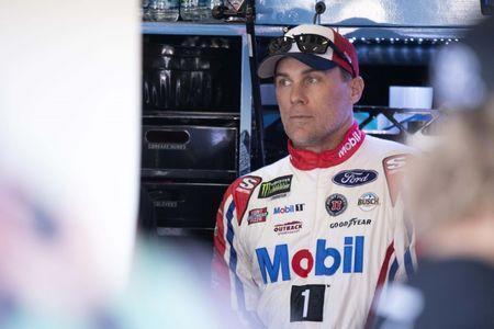 FILE PHOTO: Nov 2, 2018; Fort Worth, TX, USA; Monster Energy NASCAR Cup Series driver Kevin Harvick (4) during practice for the AAA Texas 500 at Texas Motor Speedway. Mandatory Credit: Jerome Miron-USA TODAY Sports
