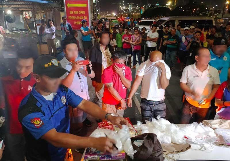 P36-M shabu seized from two peddlers in Pasay bust