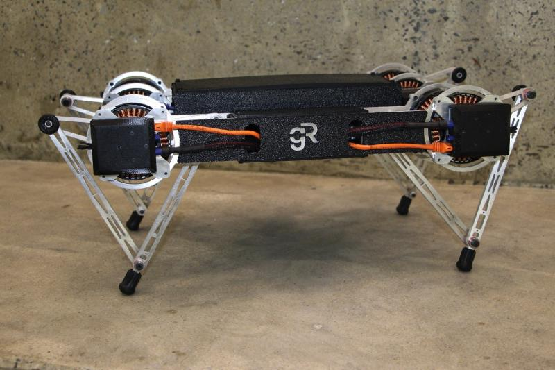 Ghost Minitaur is a 4-legged, affordable robot that can traverse almost any terrain