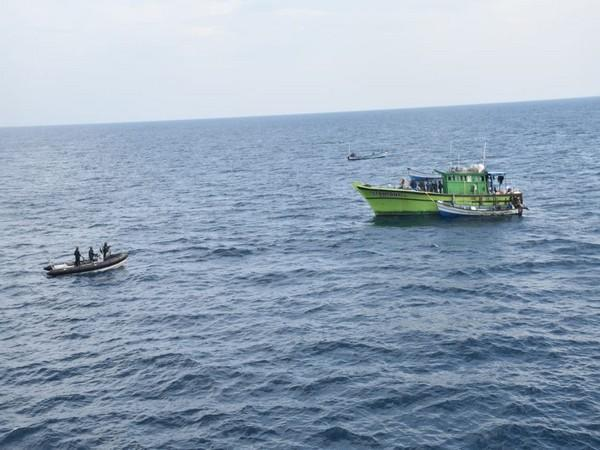 Indian Navy concludes second edition of coastal defence exercise Sea Vigil 21 (Photo/ANI)