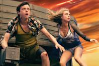 <p>One thing is for sure: there won't be another film like 'Valerian and the City of a Thousand Planets' in 2017. Luc Besson's return to science fiction is a lot closer to the futuristic vibrancy of 'Fifth Element' than the contemporary tech-thrills of 'Lucy' and the trailer certainly reflects this. Dane DeHaan and Cara Delevingne star as the space and time-travelling stars of the famed French graphic novel 'Valérian and Laureline'. (Credit: EuropaCorp) </p>