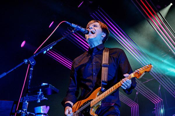 Reunited Postal Service Celebrate 'Give Up' at Barclays Center