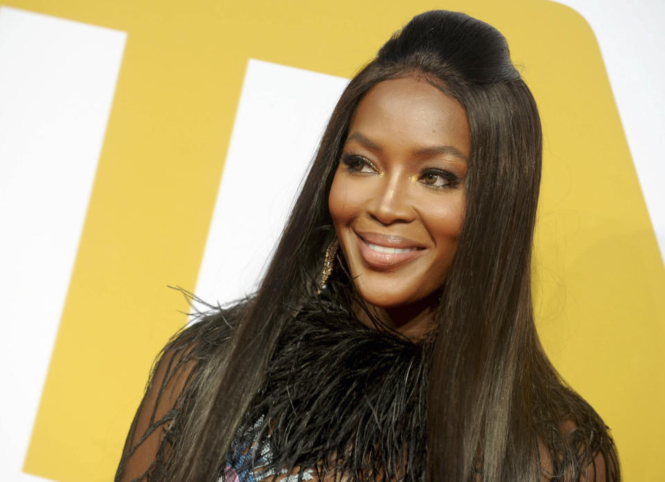 Naomi Campbell welcomed a daughter this year. (AP)
