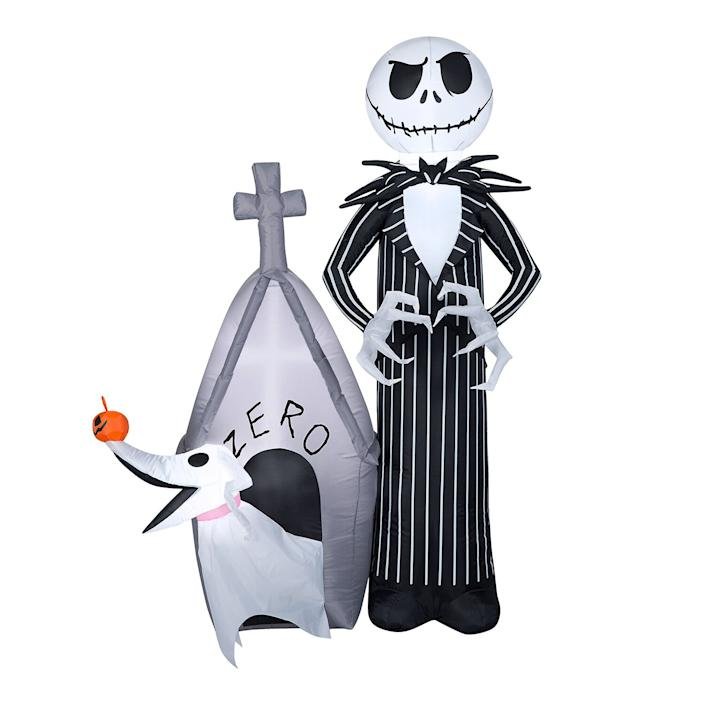 Walmart Has So Many Halloween Yard Inflatables Starting At 30 Including Characters From The Nightmare Before Christmas Most of the scarier stories invoke this very effectively. halloween yard inflatables starting