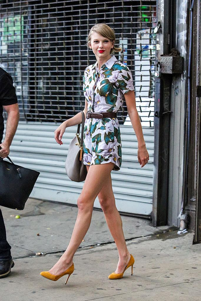 Celebrity Sightings In New York City - July 02, 2014