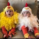 <p>These <span>twin chicken costumes</span> ($260) are absolutely adorable.</p>